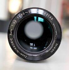 Nikon Nikkor 80-200 f4.5 Ai Schiebezoom