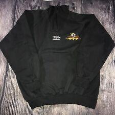 Umbro Embroidered Vtg Sweatshirt UWS Long Island NY Lady Rough Riders Soccer