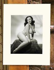 Gorgeous Burlesque Woman - Semi NUDE - FINE ART PRINT- LIMITED