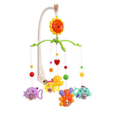 Baby Crib Mobile Bed Bell Holder Kid Toy Bracket Wind-Up/Auto Music Box Nursery