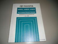 Workshop Manual Toyota Automatic Gearbox For Previa + Hiace Stand 07/1990