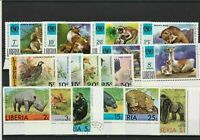 Liberia Cancelled Stamps Birds & Animals ref R 18568