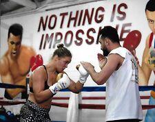 Ronda Rousey & Edmond Tarverdyan 8x10 Photo UFC Picture 193 190 184 175 168 157