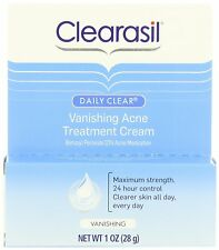 Clearasil Daily Clear Vanishing 10 Acne Treatment Cream 28gm -Expiration 09-2018