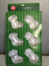 Cake tin mini stocking and snowman new