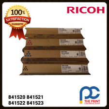 Ricoh Original Full Toner Set CMYK EDP CODE 841520 841521 841522 841523 MP C2551