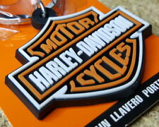 HARLEY DAVIDSON BAR AND SHIELD KEYCHAIN FOB KEY CHAIN RING