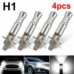 4PCS H1 220W  LED Headlight Bulbs Kit Fog Driving Light 6000K Super White