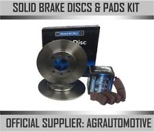 OEM SPEC REAR DISCS AND PADS 240mm FOR RENAULT MEGANE MK2 SALOON 1.6 2005-09