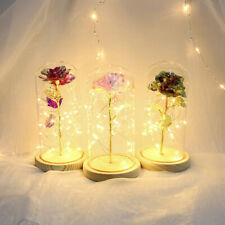 La Bella Y La Bestia Navidad San Valentín regalo de luz LED de Flor Rosa Eterna Reino Unido