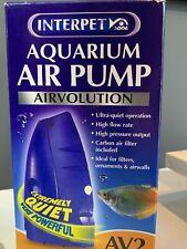 Interpet Airvolution AV2 Aquarium Fish Tank Air Pump AV 2