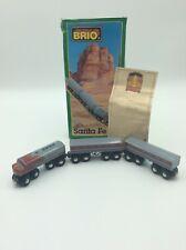 Genuine Wooden Brio Thomas the Tank Engine Santa Fe Train 33423