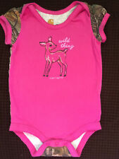 """Carhartt 9M """"Wild Thing� infant girl clothes 6-9 months"""