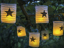 LED Lampions großer Stern