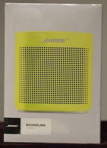 Bose SoundLink Color II Portable Bluetooth Speaker - Yellow Citron (752195-0900)