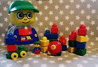 "Retro 1998 LEGO PRIMO ""2018 SET"" with 6 KNOB RATTLE extra, Lovely clean conditio"