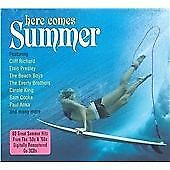 Here Comes Summer 3-CD NEW SEALED Beach Boys/Sam Cooke/Ventures/Champs/Shadows+