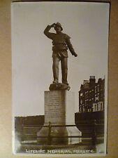 1938 Used Postcard- LIFEBOAT MEMORIAL, MARRGATE, KENY + STAMP