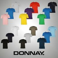 Mens 3 Pack Donnay Plain V Neck T Shirt Top Sizes from S to XXXXL