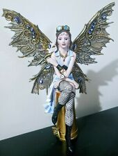 Steampunk Mystical Fairy Figurine Statue Fantasy Mythical Magic Gothic Magical
