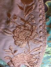 Johnny Was stretch leggings. Embroidered. Rose color. Small. Nice!