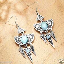 Wholesale 1pair Woman's Multi Crystal Rhinestone Long Ear Stud Hoop earrings 088