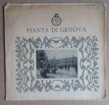 ENIT - Agenzia nazionale italiana del turismo - Pianta di Genova - De Agostini