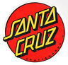 Santa Cruz Classic Dot Skateboard Sticker - surfing skating sk8 skate - large