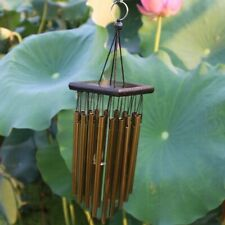 Outdoor Living Wind Chimes Yard Garden Tubes Bells Copper 16 Tubes Aluminum