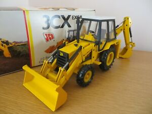 NZG JCB 3CX BACKHOE LOADER BLACK CAB JCB DIECAST MODEL JCB RARE COLLECTABLE RARE