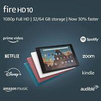 Amazon Fire HD 10 Tablet (9th Generation) 32GB, Wi-Fi, 10.1in - Black