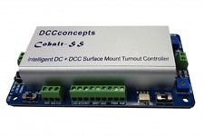 DCC Concepts 2x Cobalt-SS with Controller & Accessories