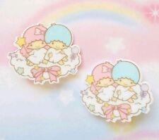 New Kawaii Little Twin Stars Cute Anime Hair Clip Hair Bow Fairy Kei Cosplay