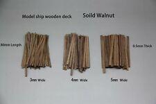 Legno Modello Nave verande/il fasciame fisso dello scafo 0.5x3x80mm 80 PEC/Pacchetto