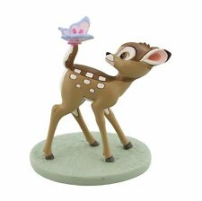 Disney Magical Moments Bambi and Butterfly Dreams and Wishes Figurine 10cm DI189