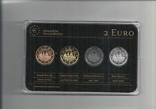 Spanien 2013, 2 Euro Prestige Coinset, Gold, Platin, Ruthenium, Neu, OVP,SELTEN