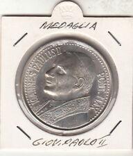 Medaglia STATO VATICANO Giovanni Paolo II Papa e San Pietro