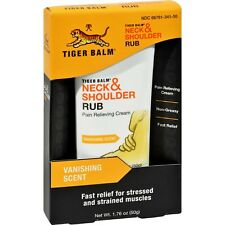2 x 50g TIGER BALM NECK & SHOULDER RUB RELIEF Stressed & Muscles Pain,Non Greasy
