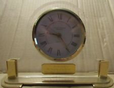 MANTLE / DESK CLOCK CRYSTAL CATHEDRAL MINISTRIES QUARTZ SONG OF SOLOMON 2:12
