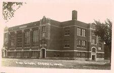 RPPC,Carroll,Iowa,High School,Carroll Postcard Photo,c.1910