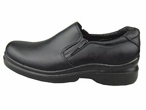 Mens Restaurant Kitchen Non-slip Skid Resistance Oil Resistant Work Shoes