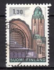 Finland - 1971 Definitive railway station - Mi. 698x VFU (normal paper)