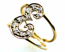 14K Solid Gold and Natural Diamonds (0.6CT) Ring