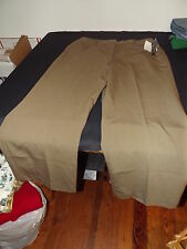 NEW LARRY LEVINE MOSSY BROWN DRESS PANTS SZ 12P PETITES NWT RET$50