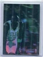 1991 Upper Deck Michael Jordan Scoring #AW1 3D Basketball Card Holo Bulls