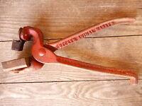 vintage Decker Tool Livestock Animal Marking Tool Keokuk, IA Collectible