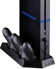 Smaacc ventilador de refrigeración para PS4 Playstation Dualshock 4 controlador con doble estación