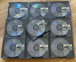 Maxell Mini Disk MD74 - 10 Stück in Box