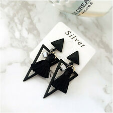 Triangle Tassel Geometry 2017 Pendant Ornaments Earrings Retro Elegant Bohemian