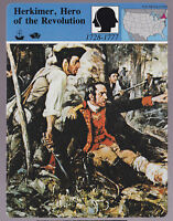 NICHOLAS HERKIMER Hero of the Revolution War STORY OF AMERICA CARD
